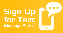 Sign-up of texting alerts